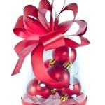 Red Christmas Gift — Stock Photo