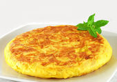 Spanish omelette — Stock Photo