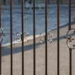 Wrought iron fence — Stock Photo #21672713