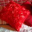Red pillows — Stock Photo
