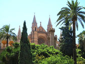 Palma of Mallorca Cathedral Balearics Spain — Stock Photo