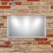 3d empty niche with spotlights for exhibit in the gallery — Stock Photo #30309857