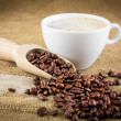 Coffee background — Stock Photo #41364283