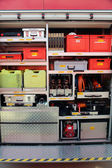 Fire service equipment — Stock Photo