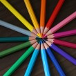 Color Pencils — 图库照片