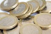 Moedas de euro — Fotografia Stock