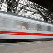 Train on Speed — Stock Photo