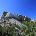 拉什莫尔山 — 图库照片