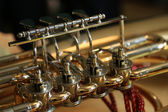 Trumpet detail — Stock Photo