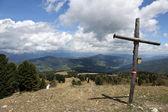 Austrian Alps, Peak of the Kreischberg — Stock Photo