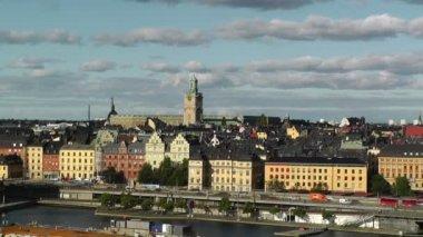 Stockholm Downtown Gamla Stan — Stock Video