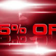 Stock Video: 25 Percent OFF