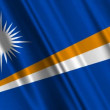 Bandeira da Ilhas Marshall — Vídeo Stock #14007927