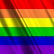 Rainbow Gay Flag - Foto Stock