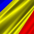 romania flag — Stock Video