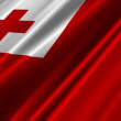 Tonga Flag - Stock Photo