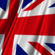 Stock Video: United Kingdom Flag
