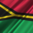 Vanuatu Flag — Stock Video