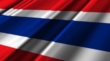 Tayland bayrağı — Stok video