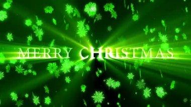 Feliz Natal e feliz ano novo de animação — Vídeo stock