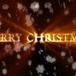 Merry Christmas and Happy New Year animation — Stock Video