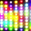 Royalty-Free Stock Vector Image: Flashing colorful disco lights
