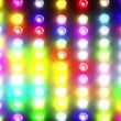 Flashing colorful disco lights — Stok video