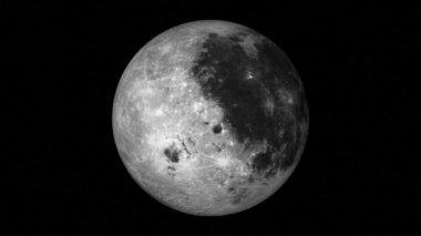 Moon Loop — Stock Video
