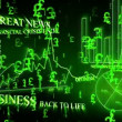Optimistic business animation with pound symbols — Stock Video #15442753