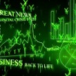Optimistic business animation with yen symbols — Stock Video #15442867