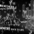 Optimistic business animation with yen symbols — Stock Video