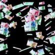 Stock Video: Euro banknotes animation