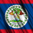 Belize Flag — Stock Photo #15855339