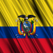 Ecuador Flag — Stock Photo #15855351