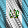 Guatemala Flag — Stock Photo