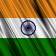 Stock Photo: India Flag
