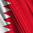 Bahrain Flag — Stock Photo