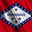 Arkansas State Flag — Foto de Stock