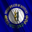Kentucky State Flag — Stockfoto #15856927