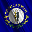 Kentucky State Flag - Stock Photo
