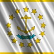 Stock Photo: Rhode Island State Flag