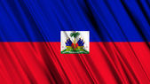 Haiti Flag — Stock Photo