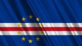Cape Verde Flag — Stock Photo