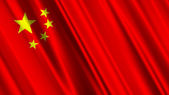 China Flag — Stock Photo