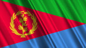 Eritrea Flag — Stock Photo