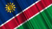 Namibia Flag — Stock Photo