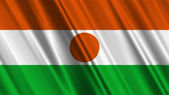 Niger Flag — Stock Photo