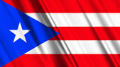 Puerto Rico Flag — Stock Photo