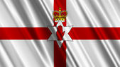 Ulster Banner Northern Ireland Flag — Stock Photo