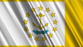 罗德岛州旗 — 图库照片